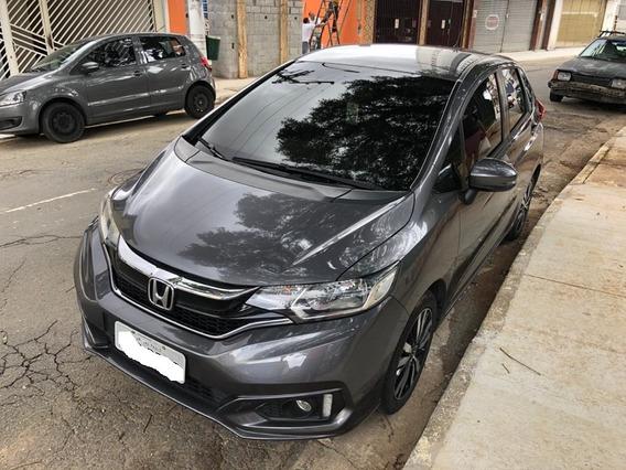 Honda Fit Cinza Automático
