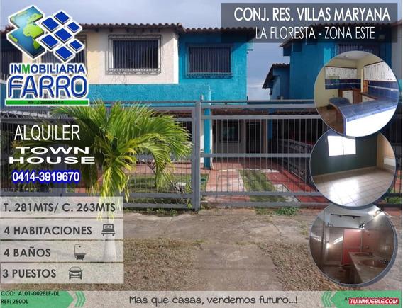 Alquiler De Town House En La Floresta Al01-0028lf-dl