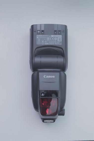 Flash Canon 600 Ex Ii Rt -praticamente Novo, Pra Vender Logo