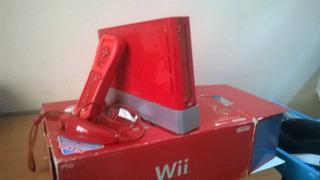 Nintendo Wii 25 Aniversario Color Rojo