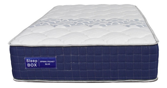 Colchón Sleep Box Blue Line Spring 1 Pocket 80x190