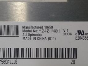 Usado* Display Tela Lcd Samsung P2470hn M240hw01 V.2