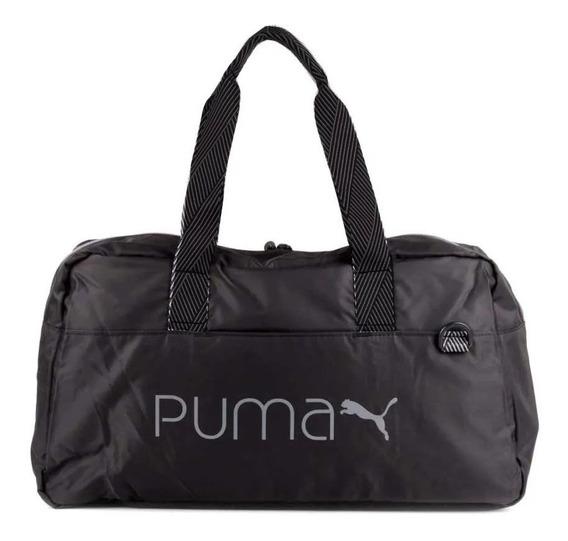 Bolso Puma Core Shopper De Mujer Negro Chico