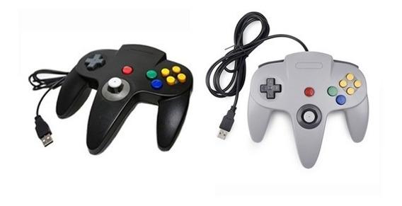 2x Controles Nintendo 64 N64 Usb Windows Mac Raspberry Linux
