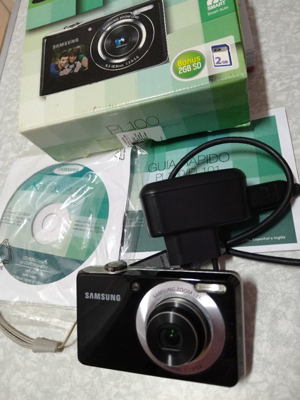 Câmera Samsung Pl100 12.2 Megapixels Usada