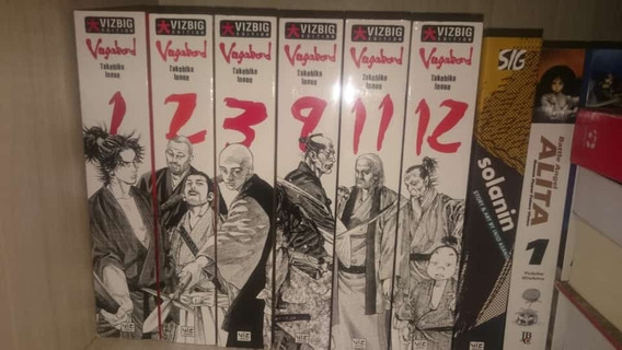 Vagabond Vizbig Edition (1, 2, 3, 9, 11, 12) Inglês
