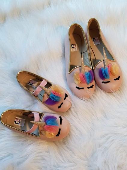 Unicornio Zapatos Niña