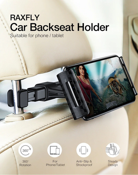 Titulares Do Banco Traseiro Do Carro Suporte Tablete Celular