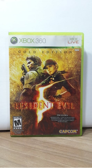 Resident Evil 5 Gold Edition Xbox 360 Usado