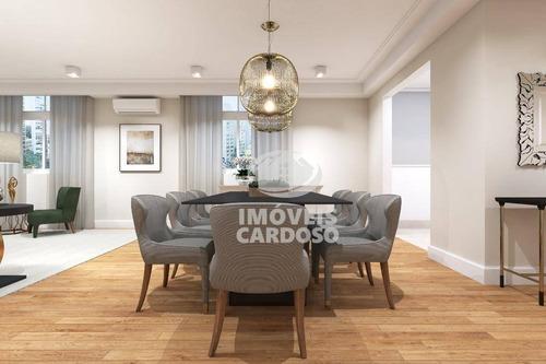 Imagem 1 de 11 de Apartamento Com 3 Dormitórios À Venda, 244 M² Por R$ 2.930.000 - Higienópolis - São Paulo/sp - Ap3418
