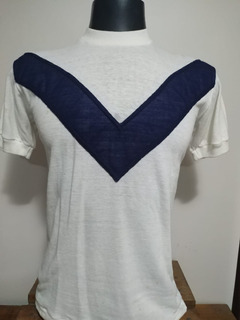 Rara Camisa Do Velez Sarsfield - Anos 80 - Carlos Bianchi