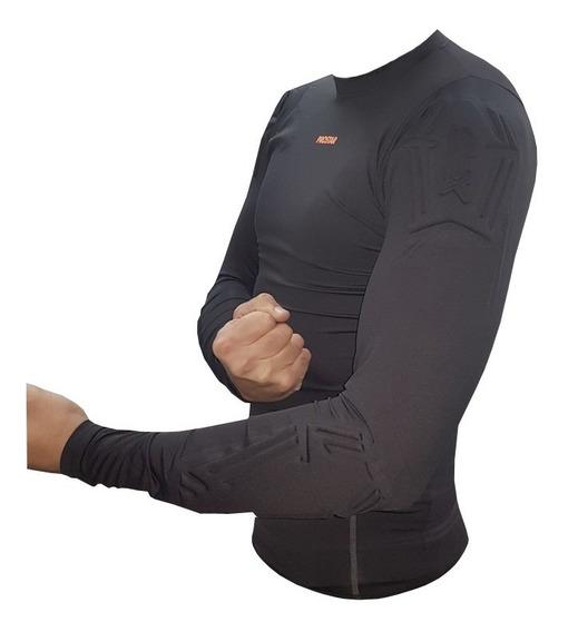 Remera Termica Arquero Protecciones Ironman Prostar