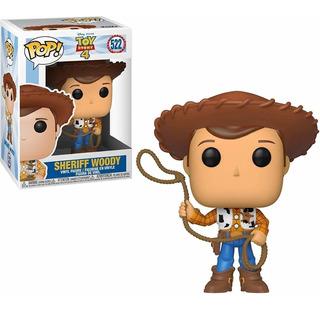 Funko Pop #522 - Woody - Toy Story 4 - Disney Pixar