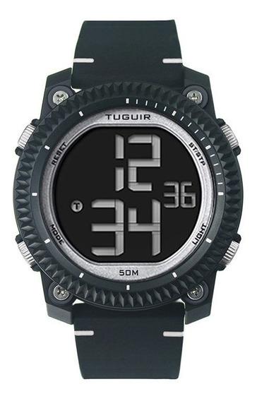 Relógio Masculino Tuguir Digital Tg6020 - Preto