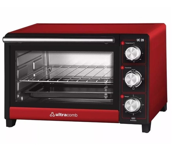 Horno Electrico Ultracomb Uc-28 28lts 1500wts Gril