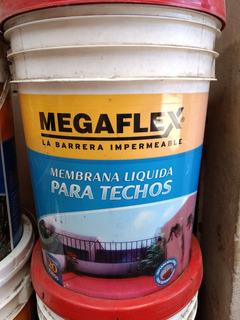 Membrana Liquida Para Techos 20lts Megaflex