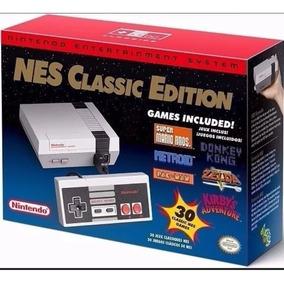 Nes Classic Edition 30jogos-nintendinho Envio Imediato