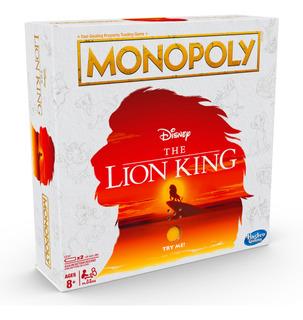 Juego De Mesa Monopoly Rey Leon