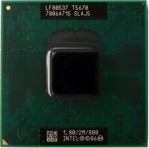 Processador Core 2 Duo T5670 Notebook Dell Vostro 1510 /1520