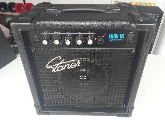 Caixa Ativa Staner Kute 106 P Guitarra Violão Teclado