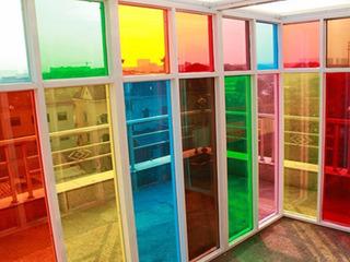 Vinilos Decorativos Traslúcido Para Vidrios Colores Vitraux