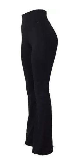 Calça Flare Bailarina Cintura Alta Legging Suplex Leg