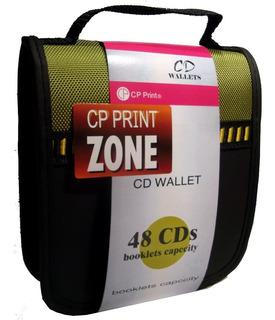 Porta Cd & Dvd Capacidad 48 Unidades +++ Remate +++