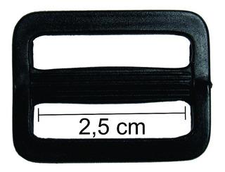 Regulador De Alças 25 Mm Retangular Plástico Pacote 50 Unid