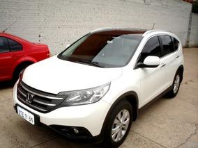 Honda Cr-v Cr V Exl 2.0 16v 4wd Aut 2012 Branca Gasolina
