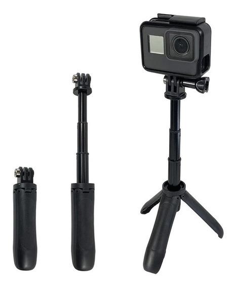 Mini Bastão Tripé Câmeras Gopro Hero Compactas Dslr Sjcam