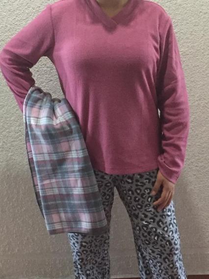 Pijamas Para Dama + Cobija De Regalo ( Frazada )