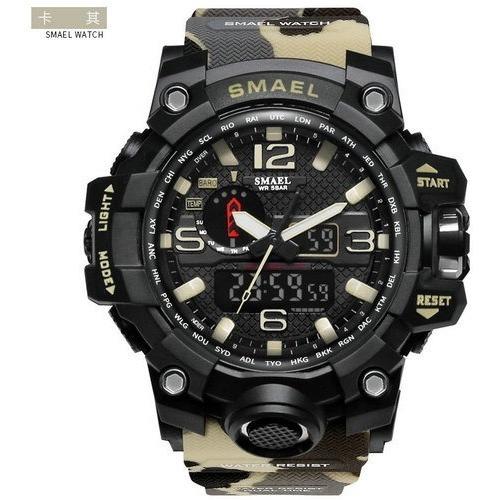 Reloj Smael Camuflado Militar Varios Modelos Sumergible