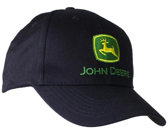 John Deere Gorra De Béisbol Hombres Negro Unitalla Original