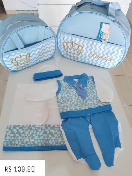 Kit Completo Com Bolsas + Saida De Maternidade