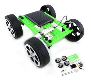 Carro Panel Solar Juguete Educativo - Proyecto Escolar