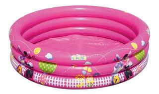 Pileta Inflable Infantil Club House Minnie