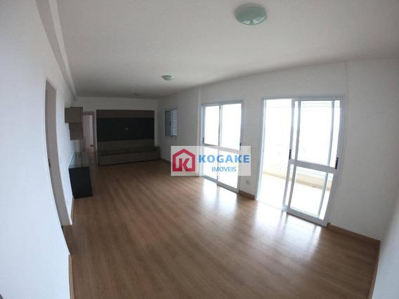 Apartamento Com 3 Suítes Para Alugar, 129 M² Por R$ 3.500/mês - Jardim Aquarius - São José Dos Campos/sp - Ap6861