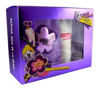 Set Crazy Florever 2pzs 80 Ml Edt Spray + Body Lotion 75 Ml