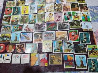 Figuritas Antiguas Varias Colecciones. Deportes. Banderas.