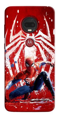 Funda Estuche Personalizado Spider-man iPhone Samsung Huawei