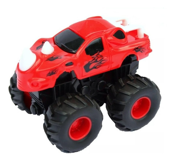 Carro Dinosaurio 4x4 Monster Friccion Carrito Juguete Niño
