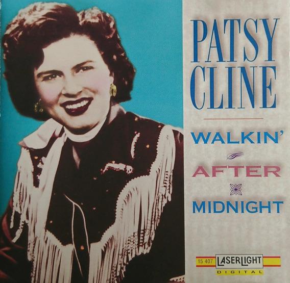 Patsy Cline Cd Walkin After Midnight 1993 U.s.a Nuevo