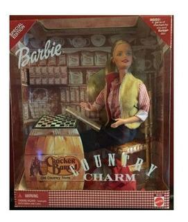 Barbie Original País Encanto Cracker Barril Muñeca