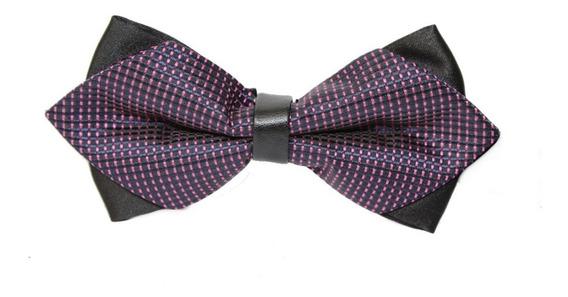 Corbata Moño Diamante Smoking Hombre Adulto Elegante Colores