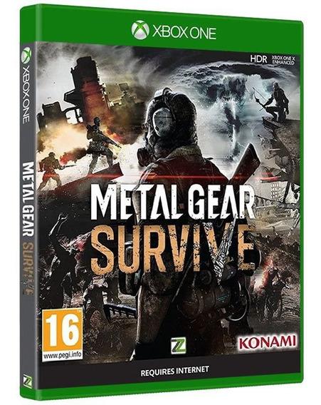 Metal Gear Survive - Xbox One - Original - Jogo Novo Lacrado