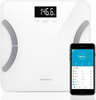 Tenergy Vitalis Body Fat Scale Digital Weight Bluetooth Conn