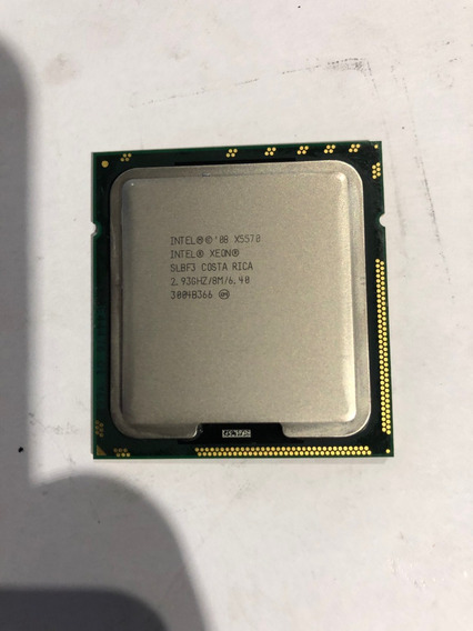Intel Xeon X5570 Quad Core 2.93ghz 8mb 6.40gt/s Qpi 1366p