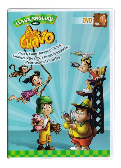 Aprende Ingles Con El Chavo Learn English Vol 4 Dvd