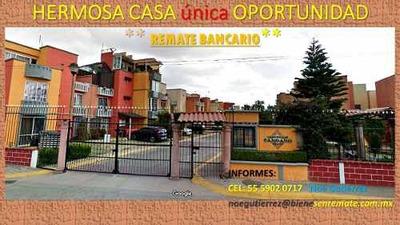 Bonita Casa **remate Bancario ** Hacienda Arboledas **