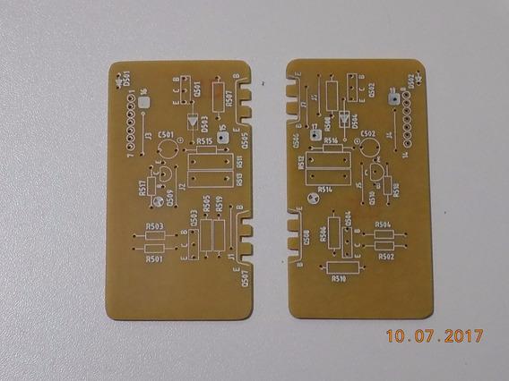 Receiver Cce Sr-6050 Placas Canal Esq. E Direito - Réplica